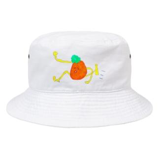 ちくちくびの走りがちミカン Bucket Hat