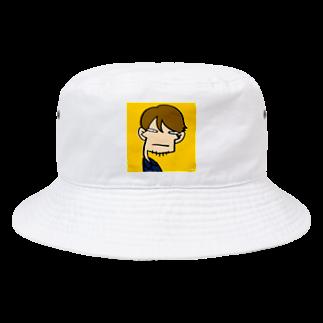 りおたのりおた真顔シリーズ Bucket Hat