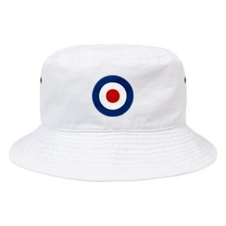 TARGET MARK ターゲットマーク who イギリス海軍 モッズ ロンドン who ク ラウンデル Roundel 円 Bucket Hat