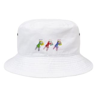 nekorobi girls Bucket Hat