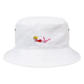 nekorobi girl Bucket Hat