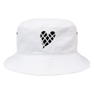 ブロックハート Bucket Hat