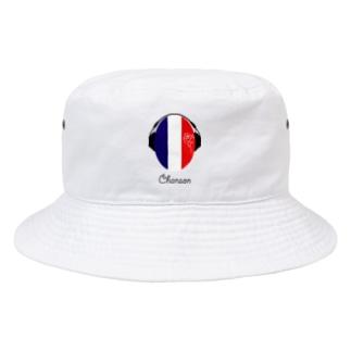 カマラオンテのシャンソン ヘッドホン フランス chanson france Bucket Hat