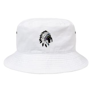 Park a Holic Bostonterrier ボストンテリア「セブン」 Bucket Hat