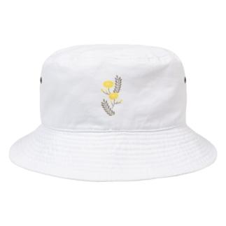 まあるいお花 Bucket Hat