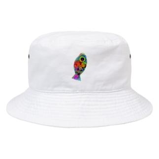 わるいおさかな Bucket Hat