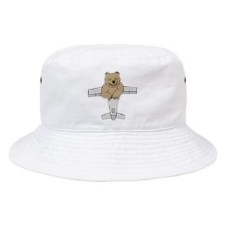 ひこうきぐま Bucket Hat