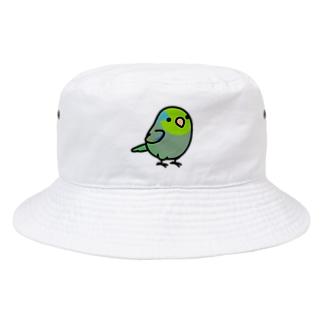 Chubby Bird マメルリハ Bucket Hat