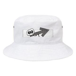 前向き Bucket Hat