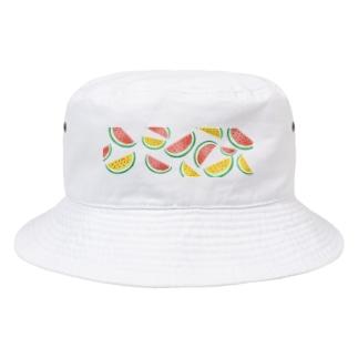 スイカと夏の大三角形 Bucket Hat