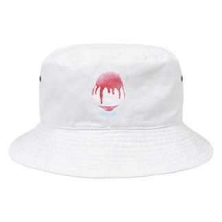 かき氷 いちご Bucket Hat