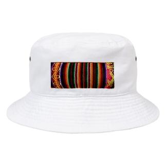 民族調 Bucket Hat