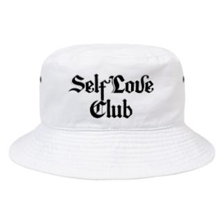 Self Love Club ( WHITE ) Bucket Hat