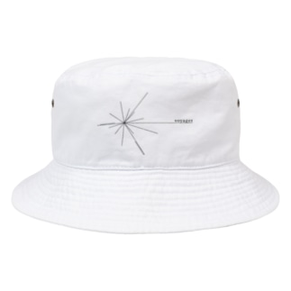 Voyager ロゴ(黒) Bucket Hat