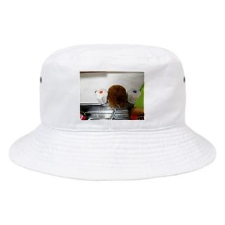 たわし Bucket Hat