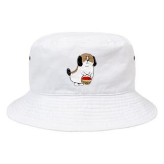 もじゃまるお見舞い Bucket Hat