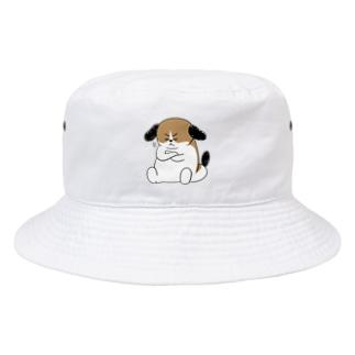もじゃまる納得 Bucket Hat