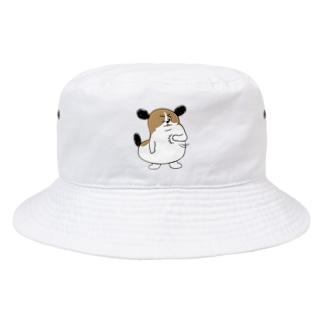 もじゃまるおまかせ Bucket Hat