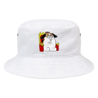 もじゃまる王様 Bucket Hat