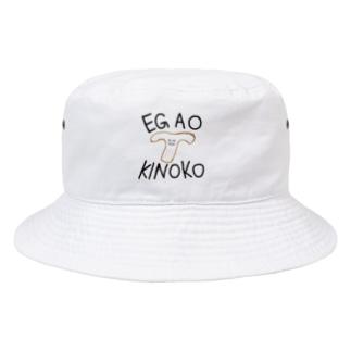えがおきのこ Bucket Hat
