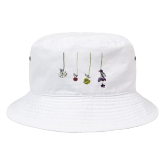 花と虫 Bucket Hat