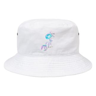 アサガオ Bucket Hat