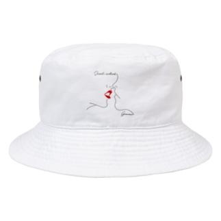 GEMENI-XのGEMENI-08[MILK](W) Bucket Hat