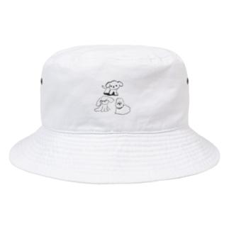 薄墨のいぬ Bucket Hat