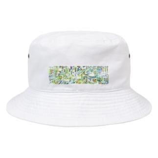 ビビビビ Bucket Hat