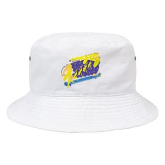 ズザザザザ Bucket Hat