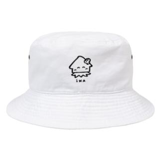 イカ美ちゃん Bucket Hat