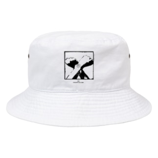 ストレートエッジ・キウイ Bucket Hat