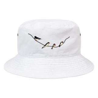 ツバメちゃん Bucket Hat