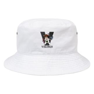 わらヴァイキング帽子 Bucket Hat