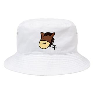 午 うま Bucket Hat