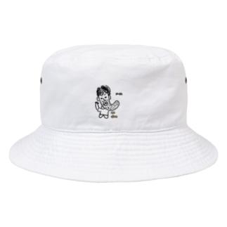 あごながおじさん。1 Bucket Hat