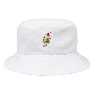 クリームソーダ Bucket Hat