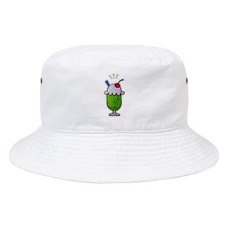 しゅわしゅわメロンソーダ Bucket Hat