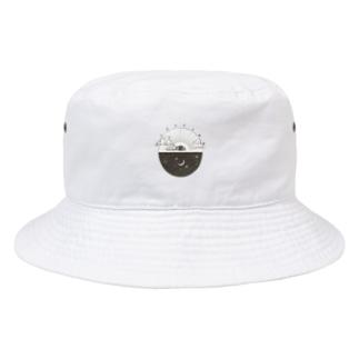 Capspark  万物を照らす光 Grey Bucket Hat