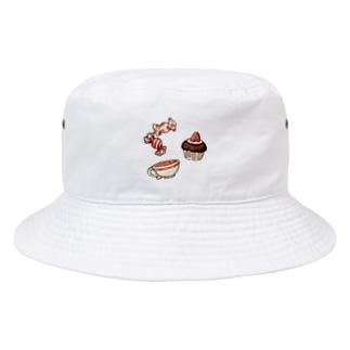 おやつ Bucket Hat