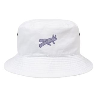 うさぎの影絵 Bucket Hat