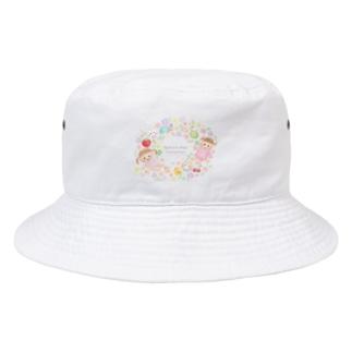 ぷちこちゃん Bucket Hat