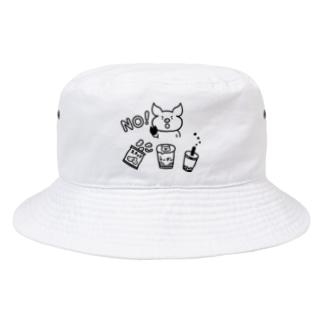 意志の強いブタ Bucket Hat