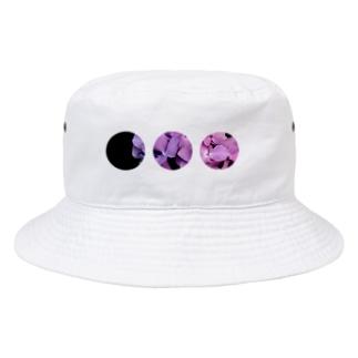 紫陽花。 Bucket Hat