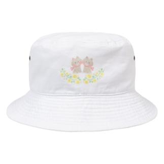 双子の子猫 Bucket Hat