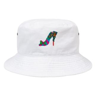 highヒール Bucket Hat