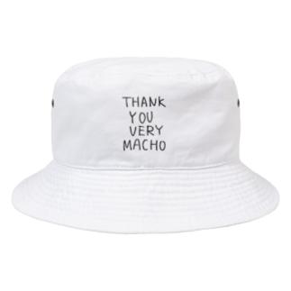 サンキューベリーマッチョ 枠なし Bucket Hat