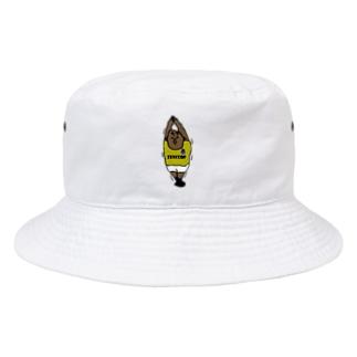 太り始めたサッカー選手 Bucket Hat