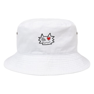 こまでびる Bucket Hat