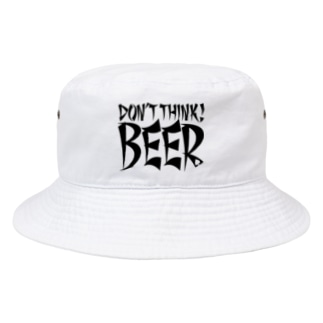 Don't Think BEER #1 (white body) Bucket Hat